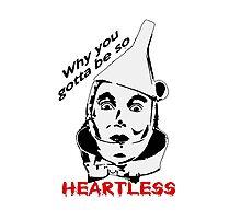 Heartless Tinman Photographic Print