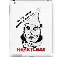 Heartless Tinman iPad Case/Skin
