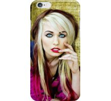 Bright eyed and beautiful iPhone Case/Skin