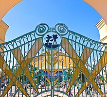 Walt Disney Studio Gates (Mickey Mouse) by ThatDisneyLover