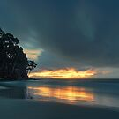 Hansons Beach Sunrise, Bruny Island, Tasmania by PC1134