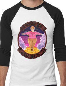 Barb Queen of The Upside Down Stranger Things Black Outline Men's Baseball ¾ T-Shirt