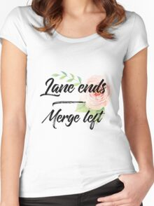 Merge Left Women's Fitted Scoop T-Shirt
