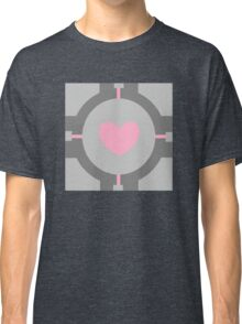 Portal Companion Cube Minimalistic Classic T-Shirt