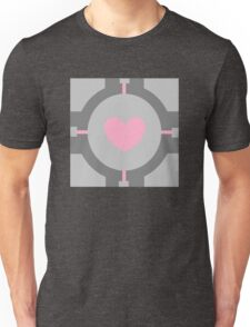 Portal Companion Cube Minimalistic Unisex T-Shirt