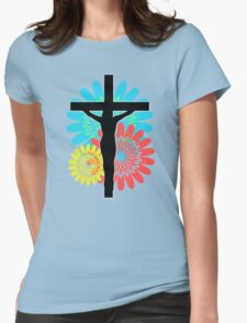 Colorburst Crux - Variation 3 Womens Fitted T-Shirt