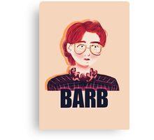 Barb Canvas Print