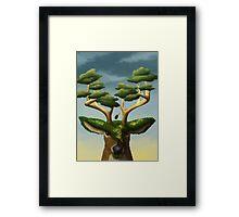 Tranquility (Deer)  Framed Print