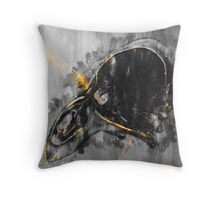 Emerge from the blackness Throw Pillow