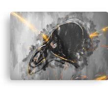 Emerge from the blackness Metal Print