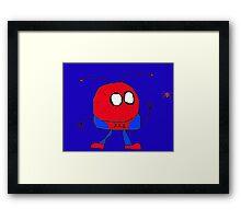 Spider Mooky Framed Print