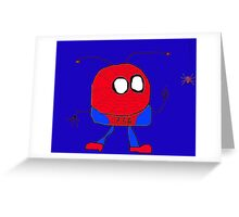 Spider Mooky Greeting Card