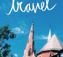 Travel Boston Sticker