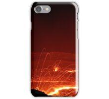 Crater lake Erta Ale, Ethiopia iPhone Case/Skin