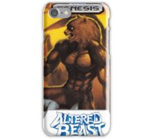 Sega Altered Beast Transparent  iPhone Case/Skin