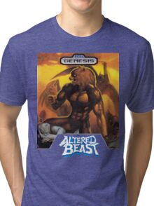Sega Altered Beast Transparent  Tri-blend T-Shirt