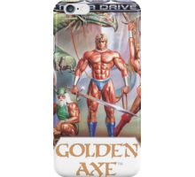 Sega Golden Axe Transparent  iPhone Case/Skin