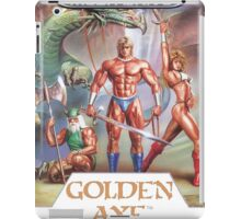 Sega Golden Axe Transparent  iPad Case/Skin
