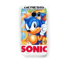 Sega Genesis Sonic The Hedgehog Video Game Cover  Samsung Galaxy Case/Skin