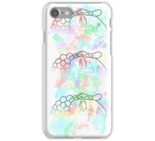 Buddha Pastel watercolour splatter iPhone Case/Skin