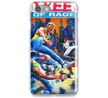 Streets of Rage cover art  iPhone Case/Skin