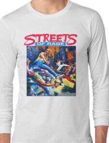 Streets of Rage cover art  Long Sleeve T-Shirt