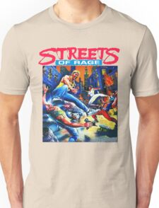 Streets of Rage cover art  Unisex T-Shirt
