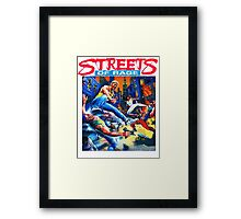 Streets of Rage cover art  Framed Print
