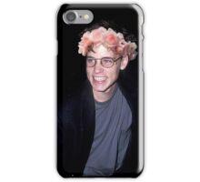 Corey Haim flower crown iPhone Case/Skin