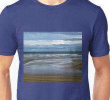 The Beach at Dowhill, Northern Ireland Unisex T-Shirt