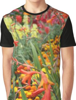 Flowers in an English Country Garden Graphic T-Shirt