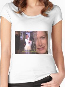 angela martin  Women's Fitted Scoop T-Shirt