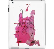 Devil's Fingers Rock Print iPad Case/Skin