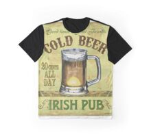 Irish Pub Graphic T-Shirt