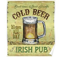 Irish Pub Poster