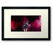The Waif & The Doctor Framed Print