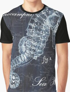 Indigo Verde Mar 1 Graphic T-Shirt