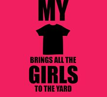 Brand New My beard brings all the girls to the yard 2013 2 Womens Fitted T-Shirt