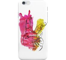 Peace Out Sign iPhone Case/Skin