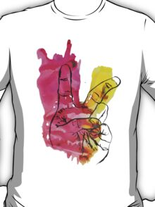 Peace Out Sign T-Shirt