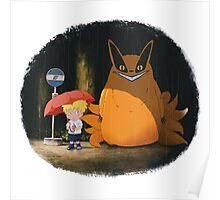 Totoro Naruto Poster