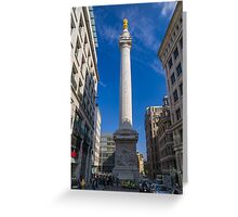 The Monument Greeting Card
