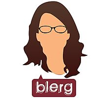 Liz Lemon - Blerg Photographic Print