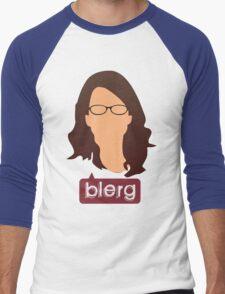 Liz Lemon - Blerg Men's Baseball ¾ T-Shirt