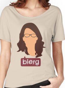 Liz Lemon - Blerg Women's Relaxed Fit T-Shirt