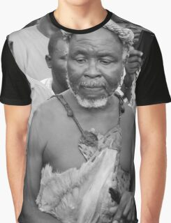 African Traditional Priest Graphic T-Shirt