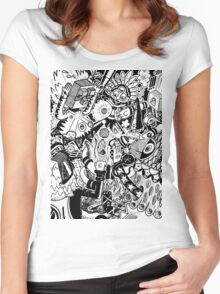 Cave Party Women's Fitted Scoop T-Shirt