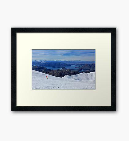 Treble Cone Framed Print