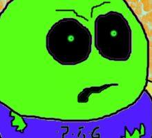 Mooky The Hulk Sticker