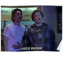disco sucks! Poster